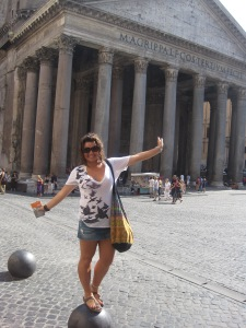 In Front of the Pantheon, Rome