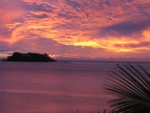 Sun Set Fiji
