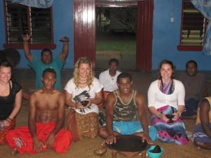 Kava Ceremony in a Local Village